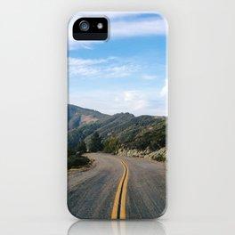 Fairfax-Bolinas Road iPhone Case