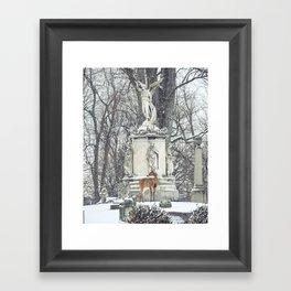 Nothing Burns Like The Cold Framed Art Print