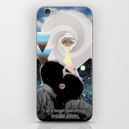 _FORGET EVERYTHING iPhone Skin