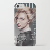 snk iPhone & iPod Cases featuring SnK Magazine: Annie by putemphasis