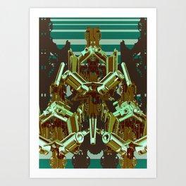 Mechanical 9 Art Print