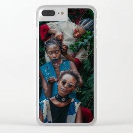 Chain Fairies Clear iPhone Case