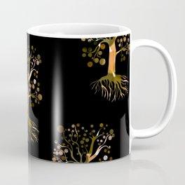 Whimsical Tree Pattern Coffee Mug