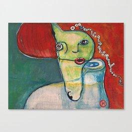 Dos Almas Canvas Print