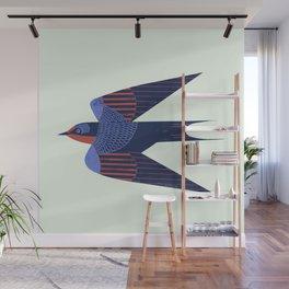 Barn Swallow Wall Mural