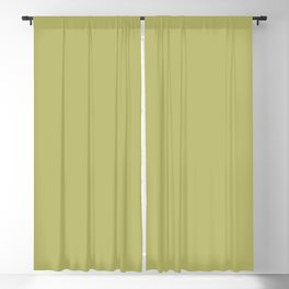 From Crayon Box – Olive Green Solid Color Blackout Curtain
