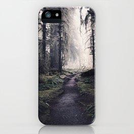 Magical Washington Rainforest iPhone Case