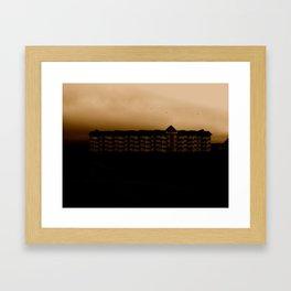 House of Brown Framed Art Print