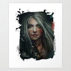 Cirilla - The Witcher Art Print