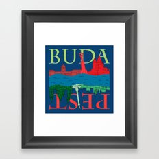 Buda Pest Framed Art Print