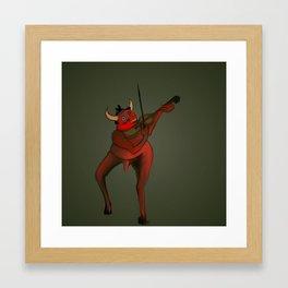 Demon Fiddler Framed Art Print