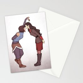 Korrasami (Underneath the Mistletoe) Stationery Cards