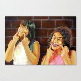 YAS KWEEN Canvas Print