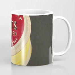 Yellow Vintage Cotton Reel Coffee Mug