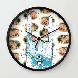'The Tale Of Peter Rabbit' Wall Clock