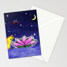 Penelope & Claire Flower Stationery Cards
