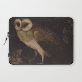 An Owl By Moses Haughton 1780 - Reproduction from original under CC0 Laptop Sleeve