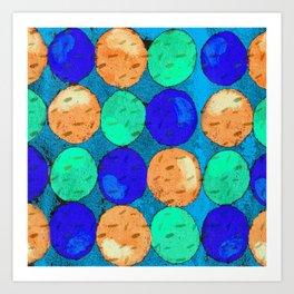 Circle of Colors 2 Art Print