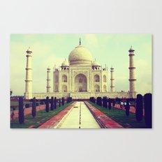 Taj Mahal by Rasmus Verdier Canvas Print