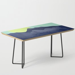 Sunset Mountain Coffee Table