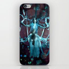 The Shibari Queen iPhone Skin