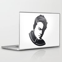 leonardo dicaprio Laptop & iPad Skins featuring Leonardo DiCaprio by Alejandro de Antonio Fernández