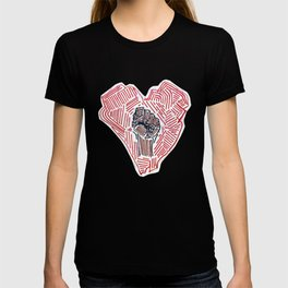 Untitled (Heart Fist) T-shirt