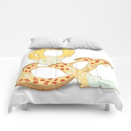 Pizza & Beer Comforters