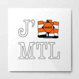 J'cone Montréal Metal Print