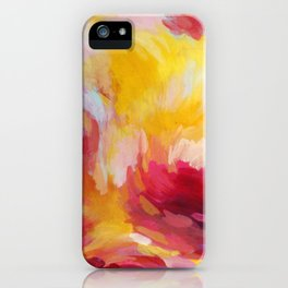 Sunset in Pink iPhone Case