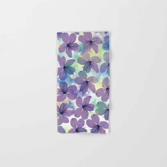 Floral Pattern #4 Hand & Bath Towel