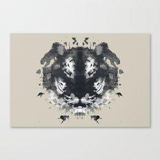 The Secret Jungle Canvas Print