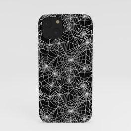 Midnight Cobwebs iPhone Case