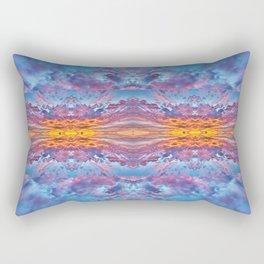 Fire in the Sky Quilt Rectangular Pillow