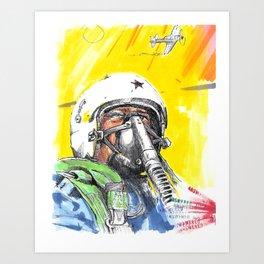 sky_pilot Art Print