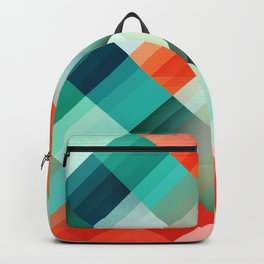 Abstract Geometric Pattern 02 Backpack