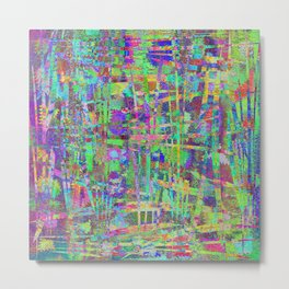 Abstract 90 PW Metal Print