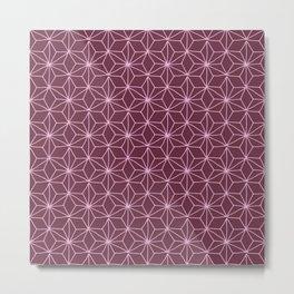 Wine Tile Metal Print