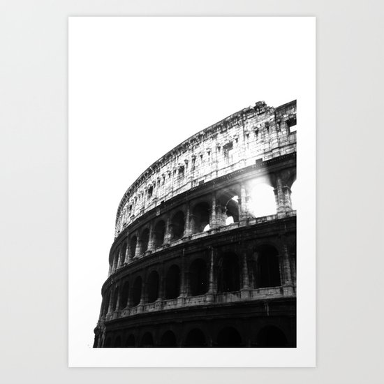 Colosseo Art Print