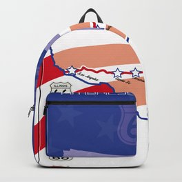 Route66 Mother Road Backpack