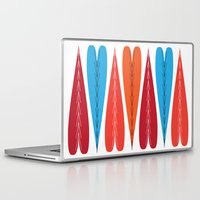 valentines Laptop & iPad Skins featuring Tall Valentines by KatieKatherine