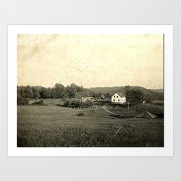 The Farmhouse Art Print