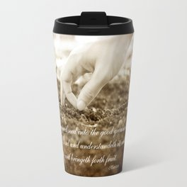 Matt 13:23 Travel Mug
