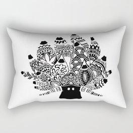Shaun the sheep Nudibranch in black Rectangular Pillow