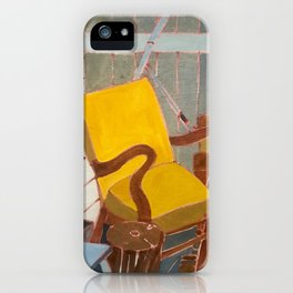 Yellow Chair iPhone Case