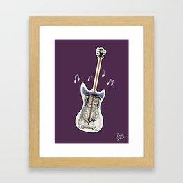 That's not a guitar Framed Art Print