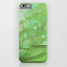 Landscaping #mint #green iPhone Case