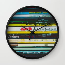 Records / Vinyl Night / Photography / Music Wall Clock