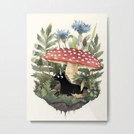 Tiny Unicorn Metal Print