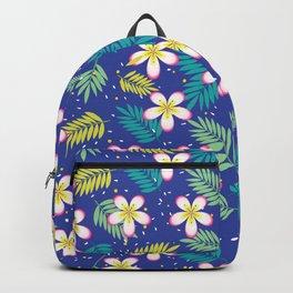Hawaiian Flowers Aloha Pattern Backpack